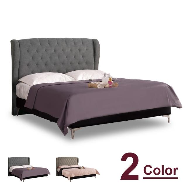 【時尚屋】多娜達6尺加大雙人床-不含床墊 C7-670-1兩色可選-免運費(臥室)