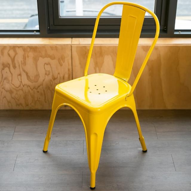 【Ashley House】Loft 英式工業簡約造型休閒椅 - 餐椅