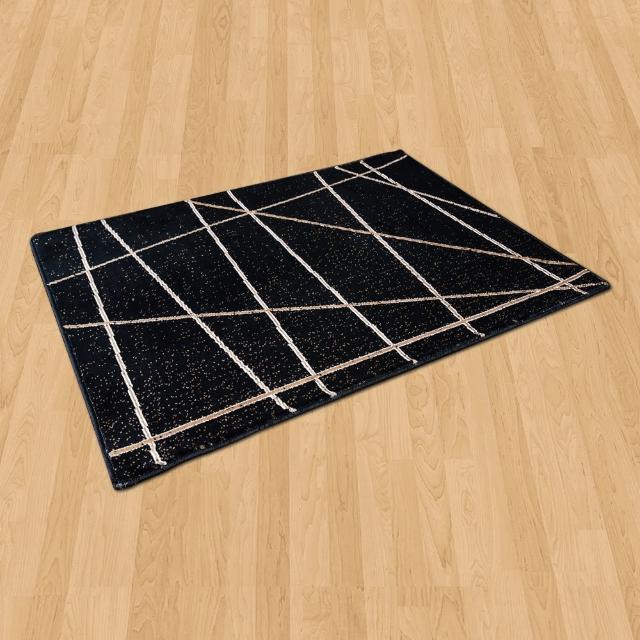 【Ambience】比利時Palmas 玄關-床邊 絲光地毯(光影 68x110cm)