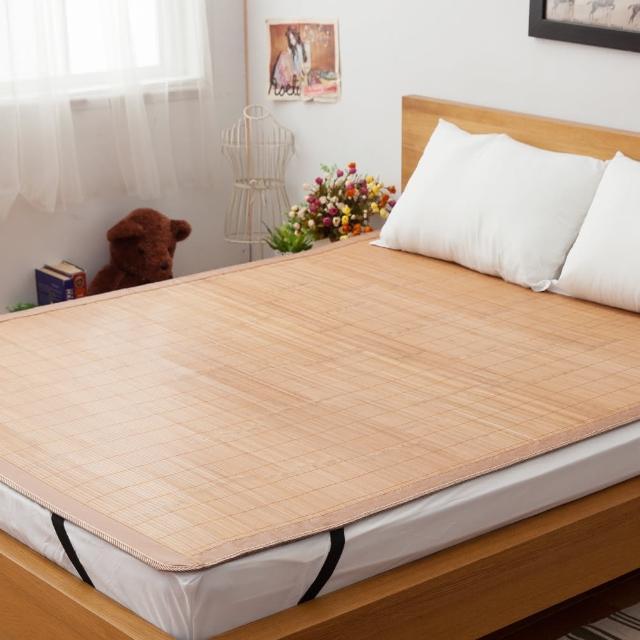 【LAMINA】平單式碳化竹蓆-5x6尺(雙人)