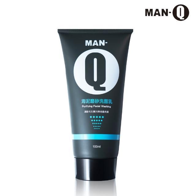 【MAN-Q】海泥磨砂洗面乳(100mlx1入)