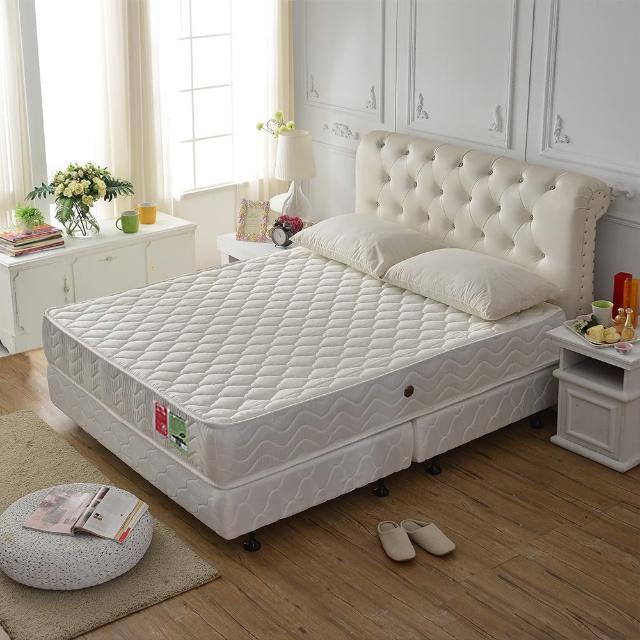 【A+愛家】乳膠抗菌-防潑水蜂巢獨立筒床墊(雙人五尺)