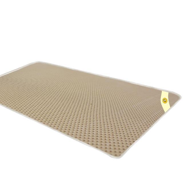 【蒙娜麗莎】台灣製4D超透氣專利止滑可水洗速乾床墊(6尺雙人加大)