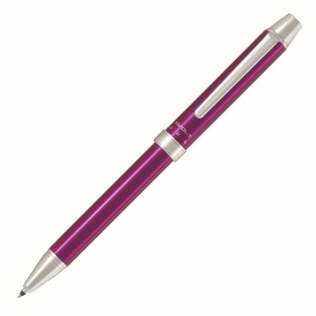 【PILOT】百樂 EVOLT 2+1多功能筆 紫