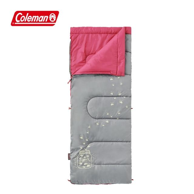 【COLEMAN】夜光型桃紅兒童睡袋-C7(CM-22263M000)