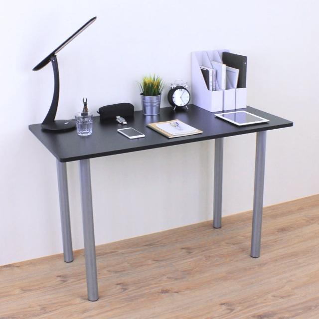 【美佳居】深60x寬120-公分(美耐皿板)書桌-餐桌-電腦桌-會議桌-工作桌-洽談桌(深咖啡-白色)