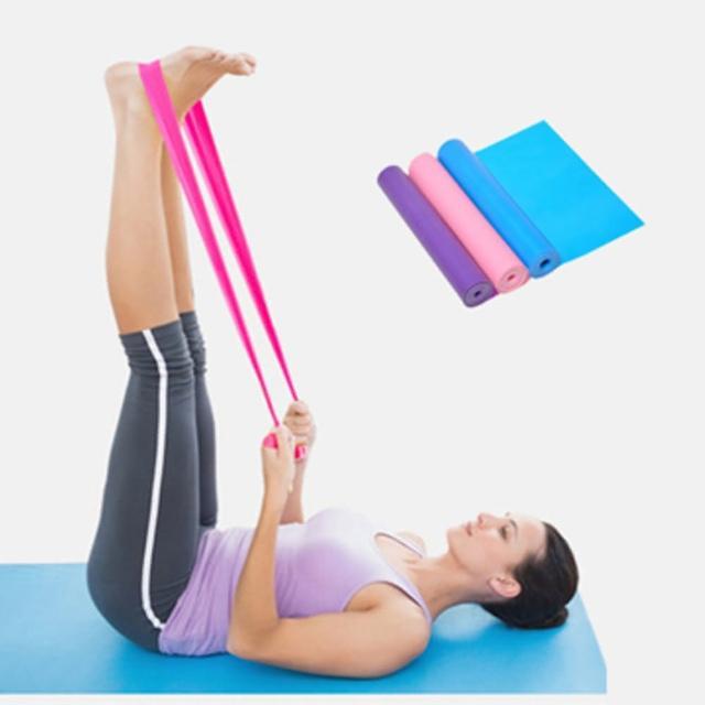 【LOTUS】瑜伽拉力帶 運動阻力帶 長1.5公尺
