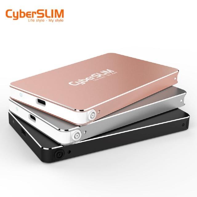 【CyberSLIM】S25U31 2.5吋外接盒 USB3.1  + 480G 固態硬碟(SSD)