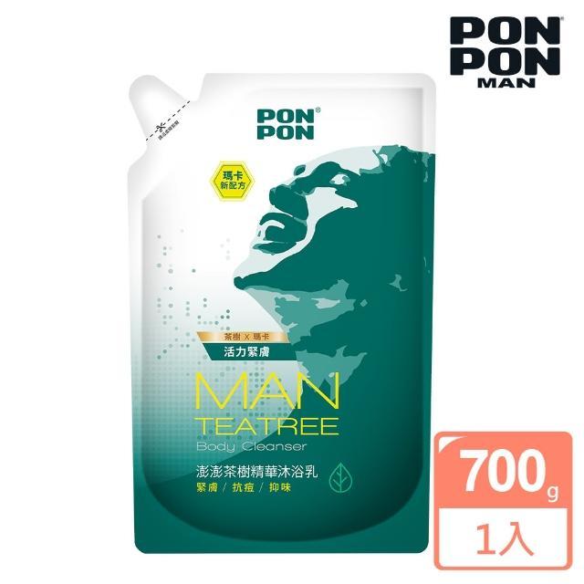【澎澎MAN】植系沐浴乳 茶樹精華淨化-700g