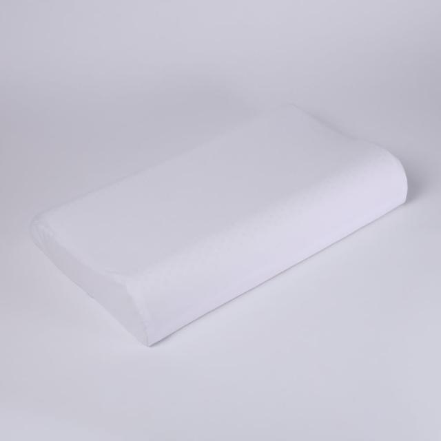 【HOLA】HOLA 馬來西亞天然乳膠曲線大枕 H11.5cm