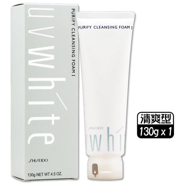 【Shiseido 資生堂東京櫃】優白洗面皂 130g〈百貨公司貨〉