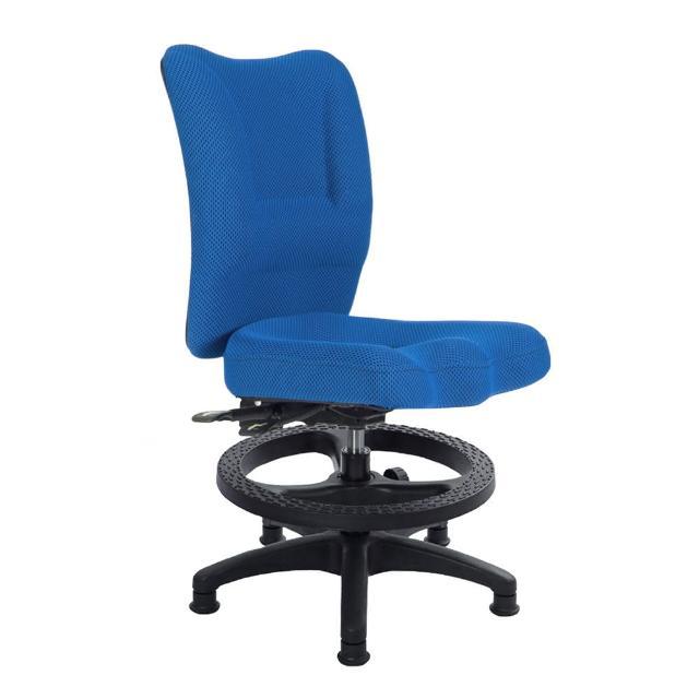 【吉加吉】兒童電腦椅 TW-007NHK(無扶手-腳踏圈)