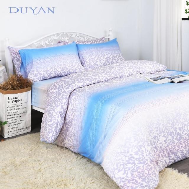 【DUYAN 竹漾】天絲雙人加大床包三件組- 櫻吹雪