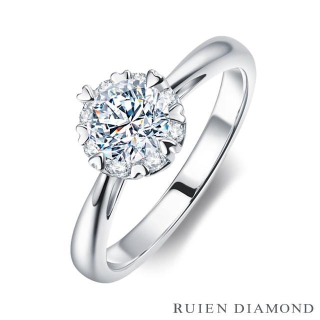 【RUIEN DIAMOND 瑞恩鑽石】限量 GIA30分 DVVS2 3EX(18K白金 鑽石戒指)