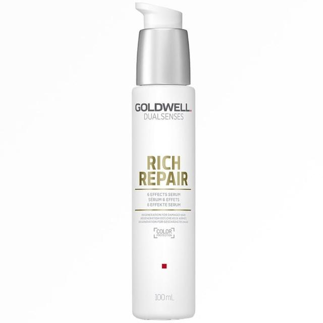 【GOLDWELL 歌薇】水感六效精華(100ml)