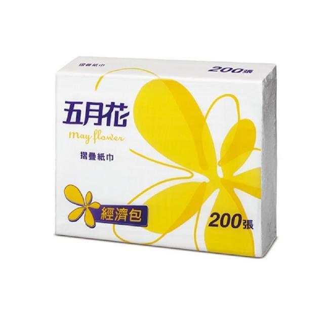 【五月花】摺疊擦手紙(200張x20包)/