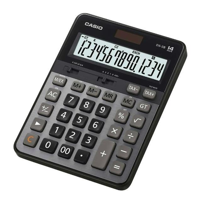 【CASIO】14位數頂級桌上型計算機(DS-3B)/