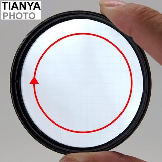 【Tianya天涯】4線十字星芒鏡77mm-可旋轉(星芒鏡