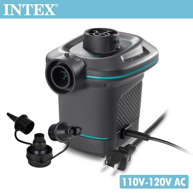 【INTEX】110V家用電動充氣幫浦_充洩二用(66639)/