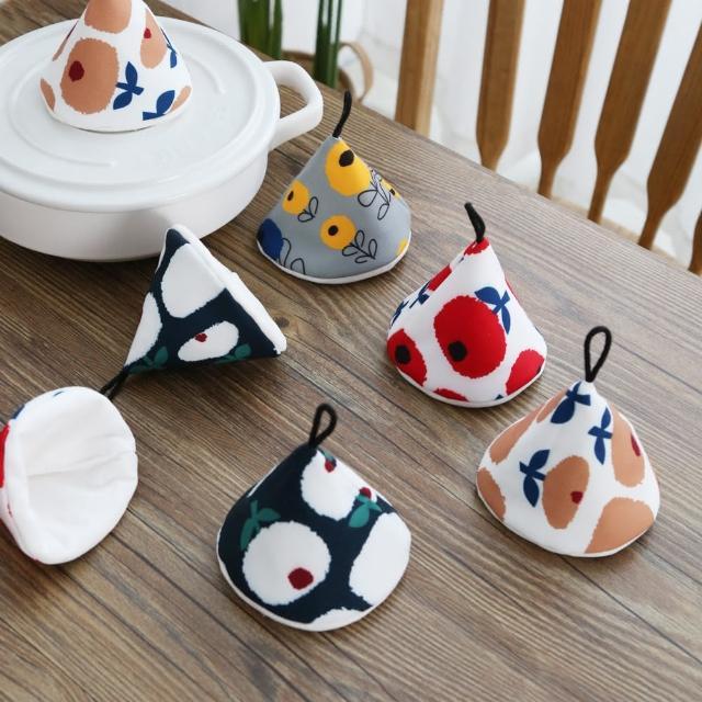 【杏屋家居】日式防燙鍋蓋帽(防燙鍋把套/隔熱手套/鑄鐵鍋專用)/