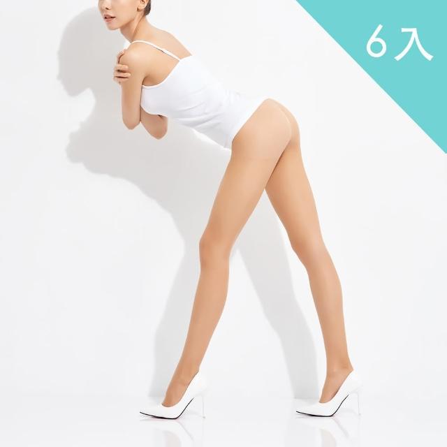 【佩登斯】15D腿部透明修身顯瘦絲襪/褲襪(6入)/