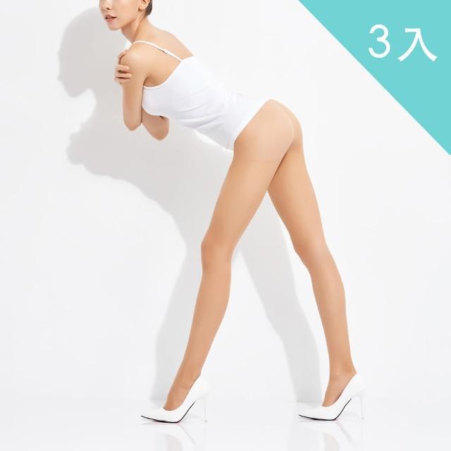 【佩登斯】15D腿部透明修身顯瘦絲襪/褲襪(3入)/