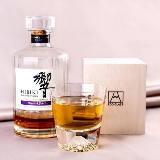 【田島硝子】日本手工吹製威士忌富士山杯(TG15-015-R)/