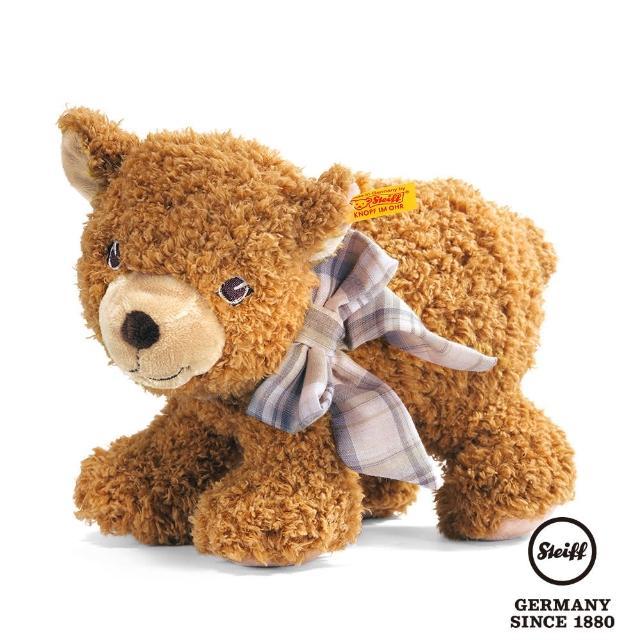 【STEIFF德國金耳釦泰迪熊】Bear Urs(嬰幼兒安撫玩偶)