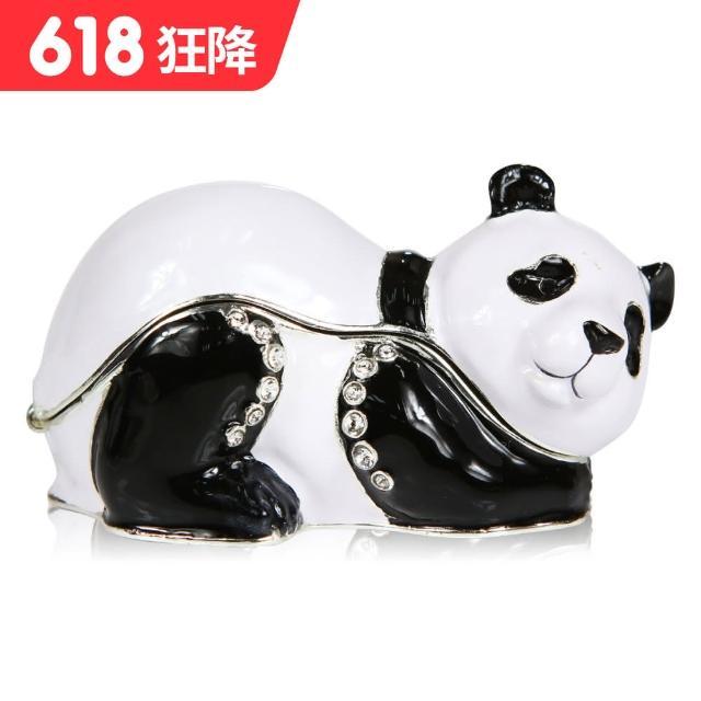 【三卡寶精品】熊貓翹屁股晶鑽(珠寶盒)