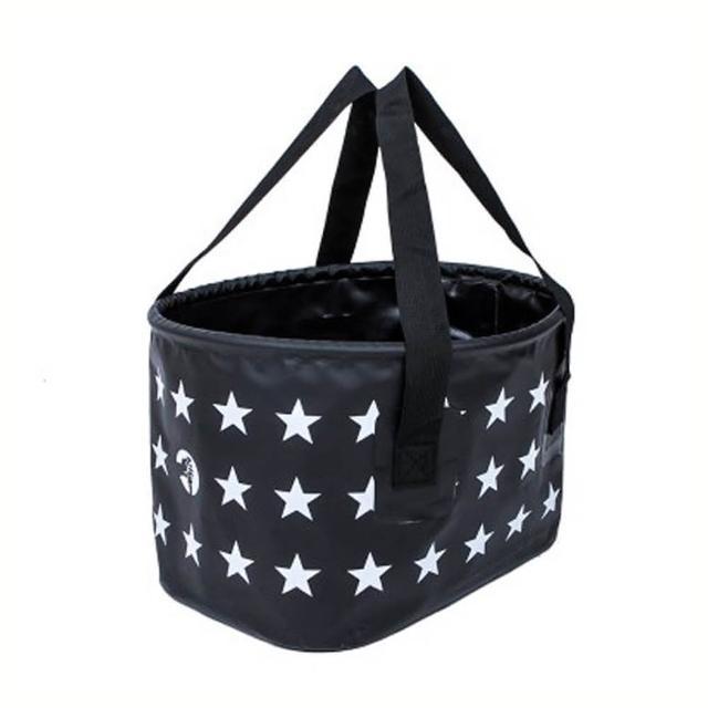 【E.City】可折疊星星加厚水桶釣魚置物桶