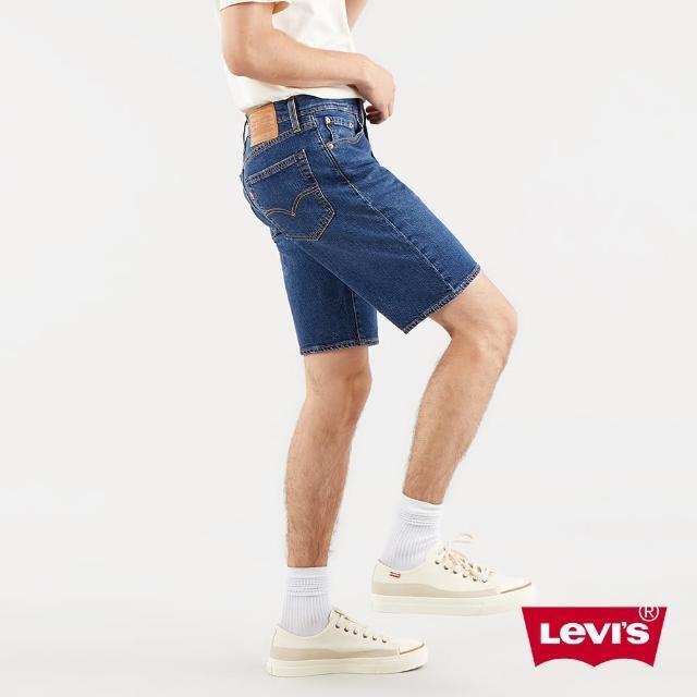 LEVIS【LEVIS】男款 上寬下窄 405牛仔短褲 / 深藍基本款-人氣新品
