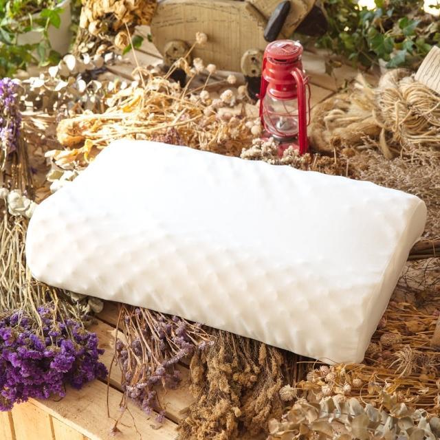 【LAMINA】波浪按摩乳膠枕(1入)