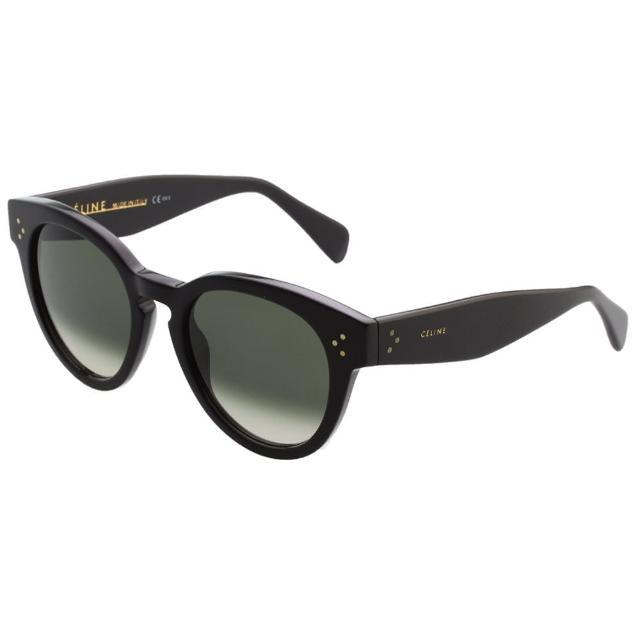 【CELINE】時尚太陽眼鏡(黑色)