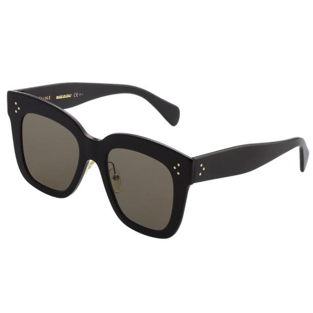 【CELINE】時尚方框 太陽眼鏡(黑色CL41444S)