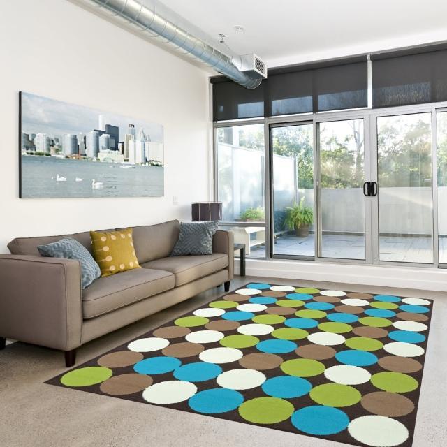【Ambience】比利時Luna 現代地毯--彩聚(160x225cm)