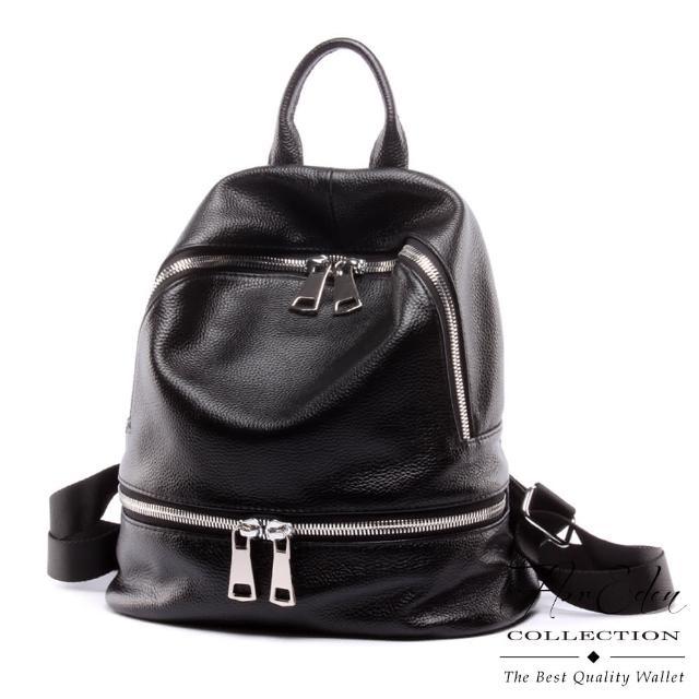 【DF Flor Eden】TOKYO時尚秀人氣推薦牛皮款後背包