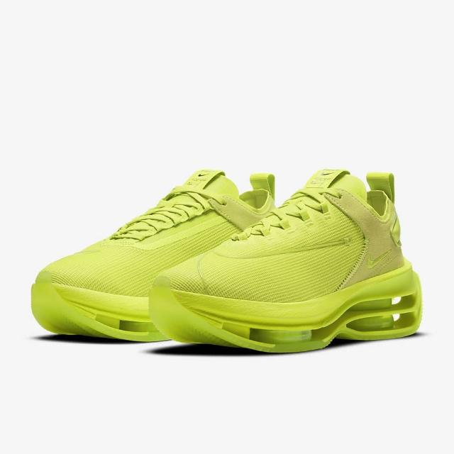 【NIKE 耐吉】NIKE W ZOOM DOUBLE STACKED 女 休閒鞋 螢光綠(CV8474300)