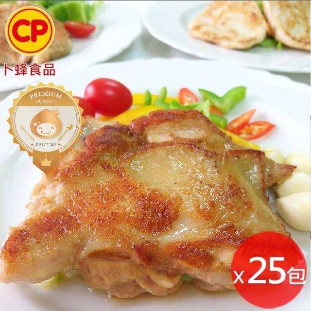 【卜蜂】醃漬去骨雞腿排 蒜味 25包組(200g/包)