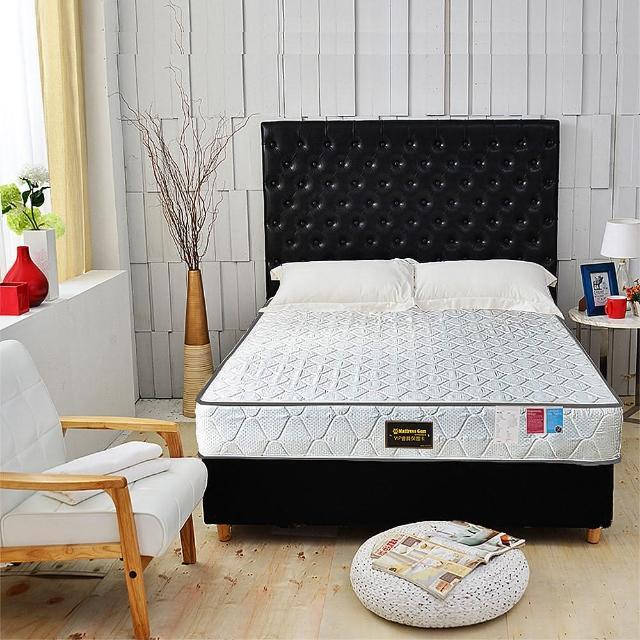 【A+愛家】3M防潑水抗菌高蓬度-護邊蜂巢獨立筒床墊(雙人加大六尺)