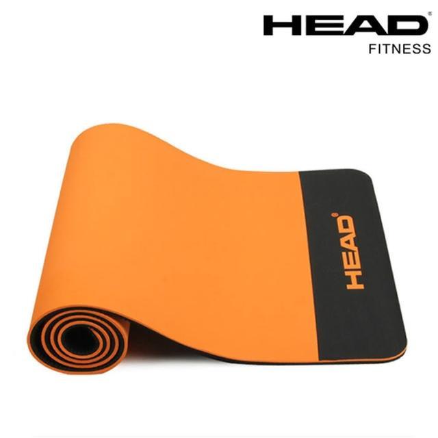 【HEAD 海德】專業瑜珈墊/運動墊12mm 臺灣製(送綁帶及背袋)