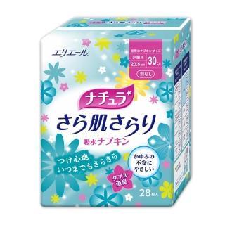 【日本大王】大王Natura極淨清爽棉墊_防漏尿用_少量型(30cc/28片)