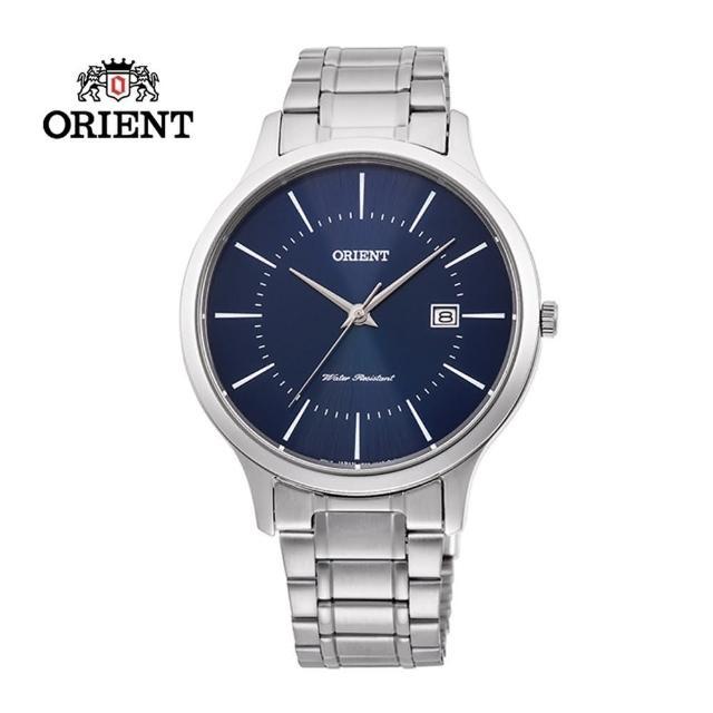 【ORIENT 東方錶】ORIENT 東方錶 CONTEMPORARY 系列 鋼帶款 藍色 RF-QD0011L-39.0mm(RF-QD0011L)