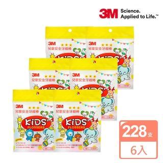 【3M】兒童牙線棒散裝包38支x6包(共228支)