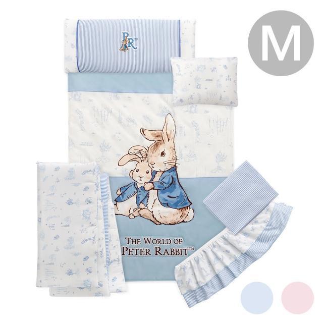【奇哥】夢境比得兔六件床組/寢具組-M(2色選擇)