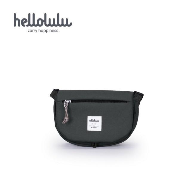 【hellolulu】EDDY 迷你斜背包-碳灰(50201-08)