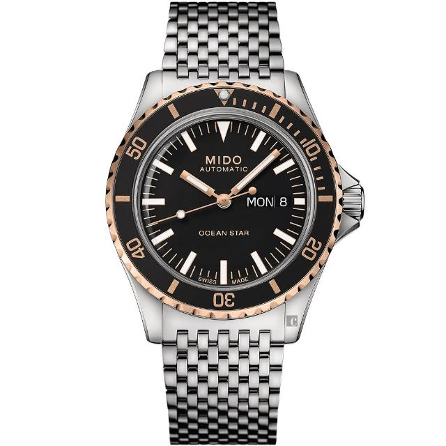 【MIDO 美度】Ocean Star 海洋之星 75周年 200米潛水機械錶(M0268302105100)
