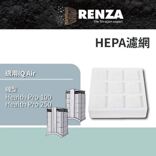 【RENZA】前置濾網 適用IQAir 空氣清靜機 HealthPro 100 250(可替代 PreMax F8)