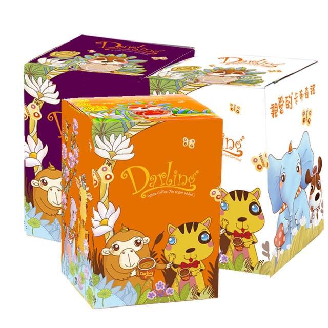 【親愛的】白咖啡+奶茶 鴛鴦組合2盒(共40包)