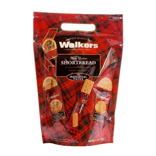 【Walkers】英國 蘇格蘭皇家綜合奶油餅乾分享包180g