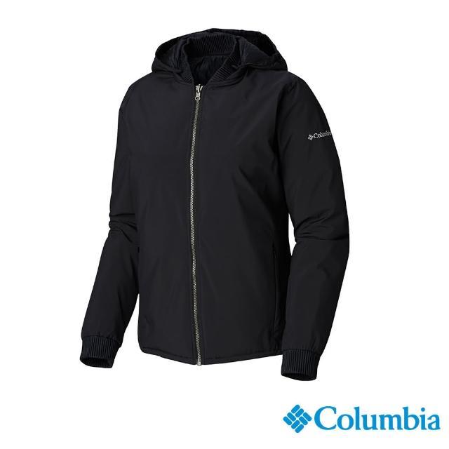 【Columbia 哥倫比亞】女款- Omni-TECH 防水雙面穿外套-黑色(UWR01960BK / 防水.夾克.透氣)